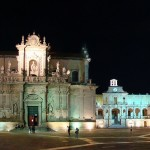 Lecce di sera